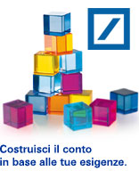 Conti correnti DB COMPONI Deutsche bank
